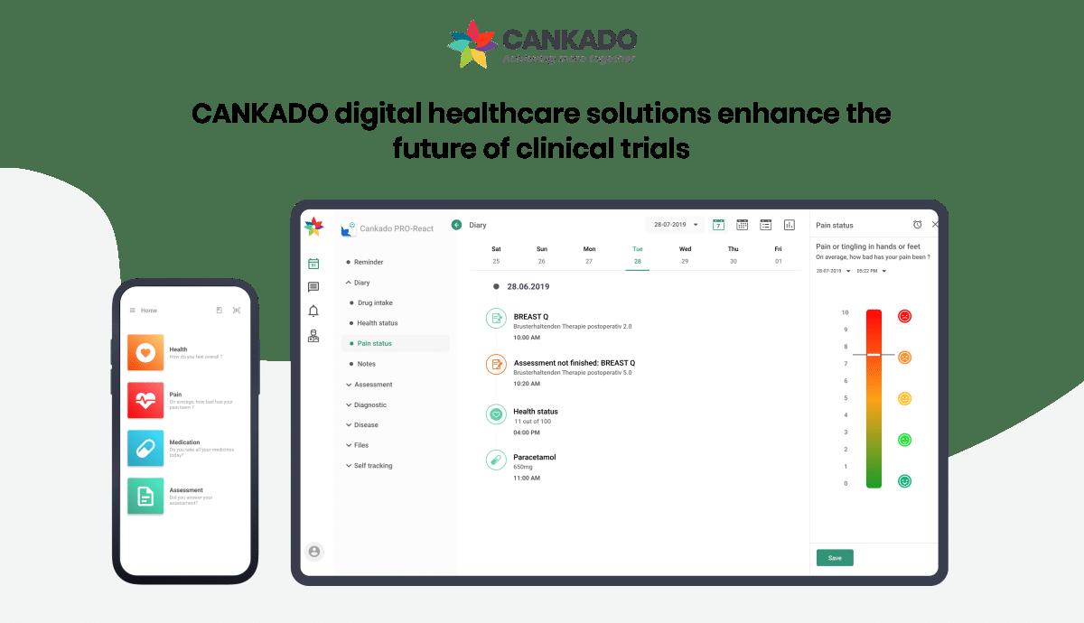 CANKADO digital healthcare solutions enhance the future of clinical trials